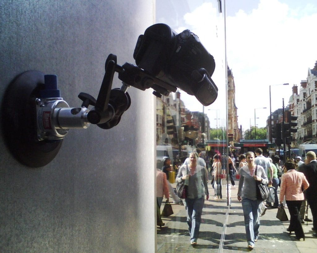 filming Oxford Street