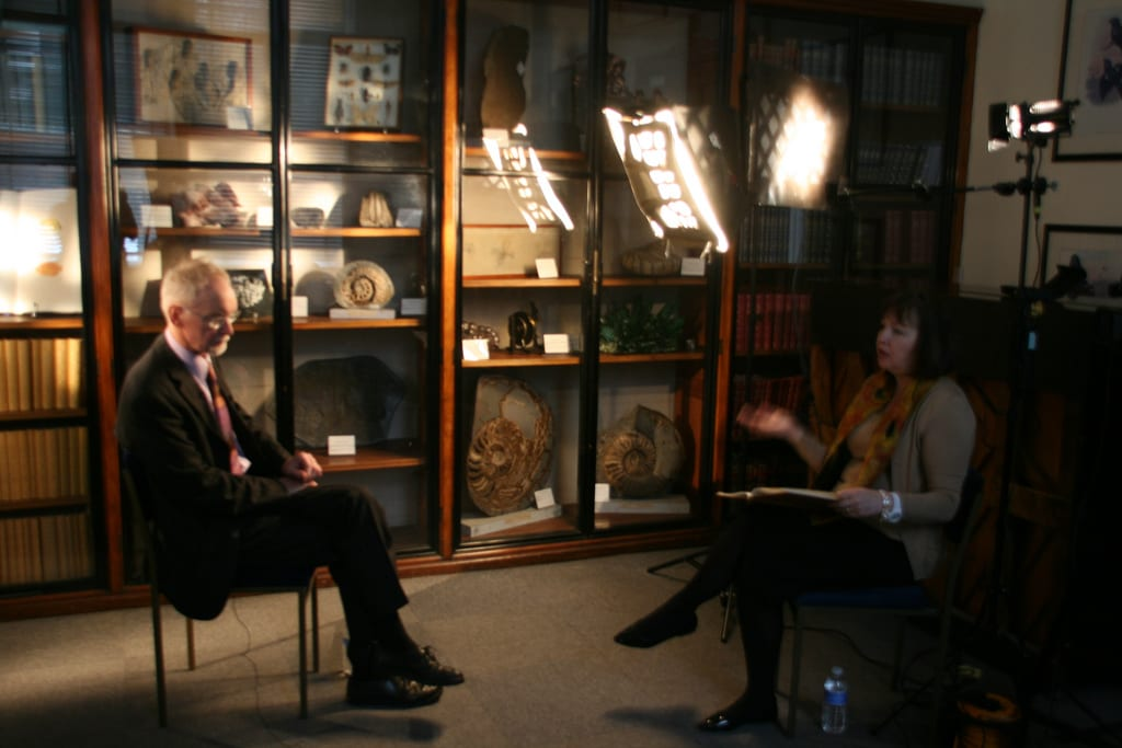 Business Evolution Video - Filming at Natural History Museum