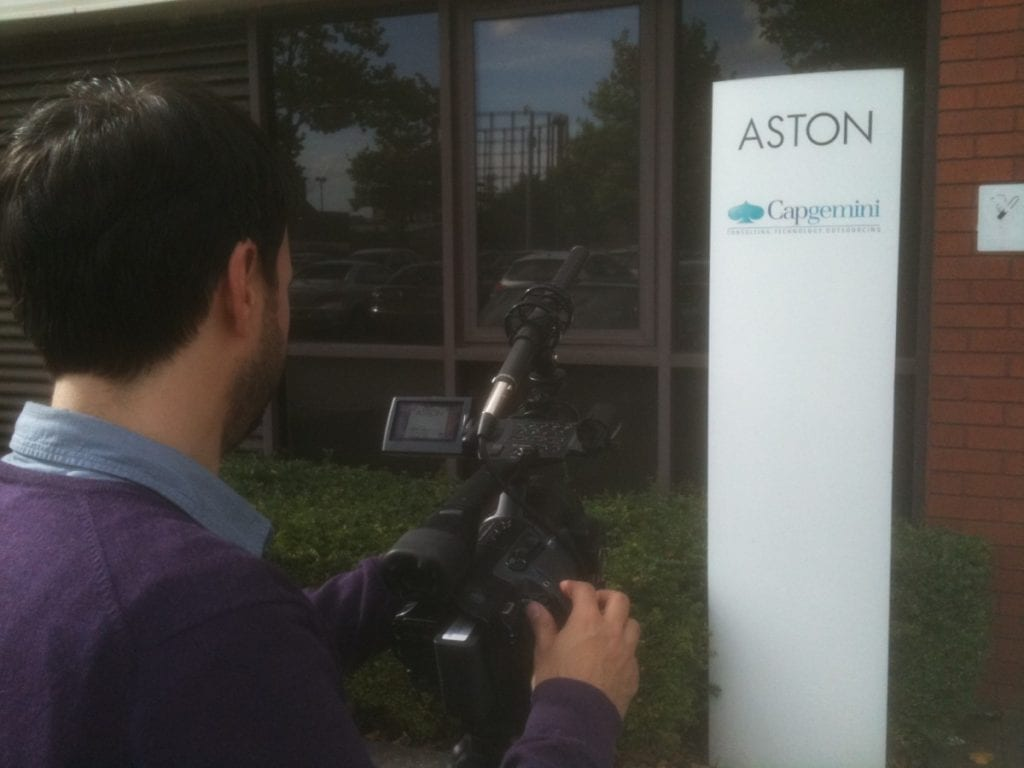 corporate interview filming