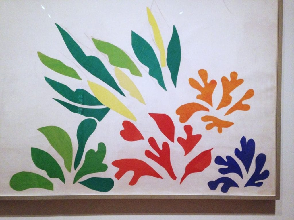 skilled animator - Matisse cut out