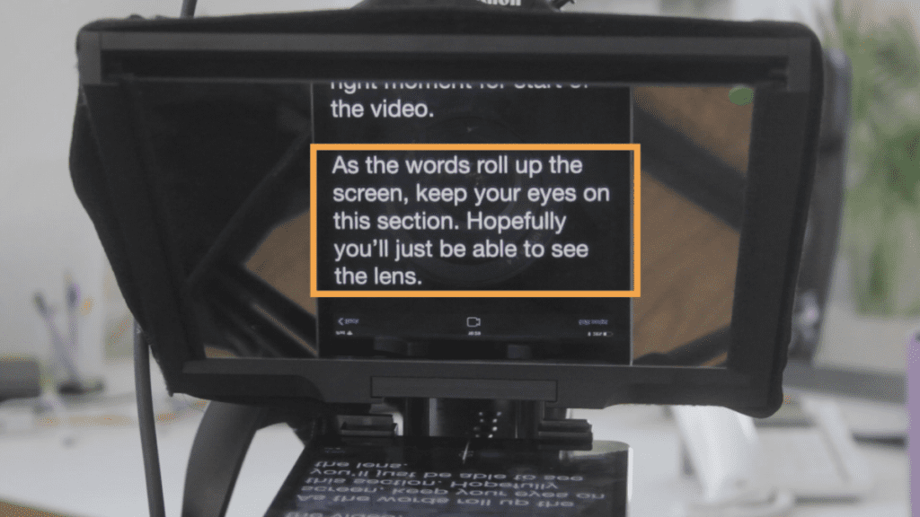 teleprompter tips