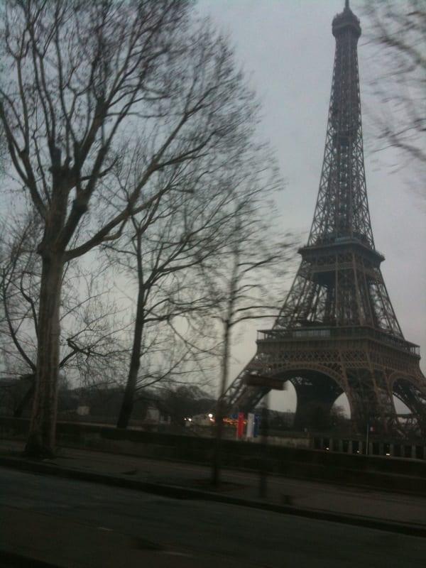 English film crew Paris