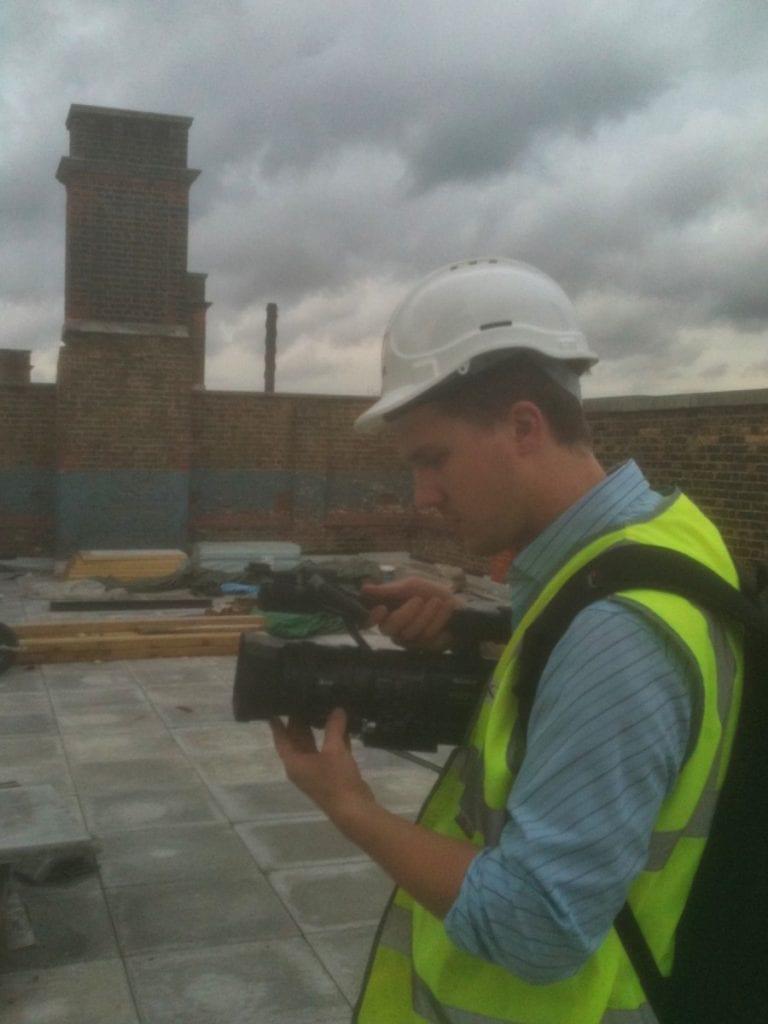Tower Halmets Filming 4