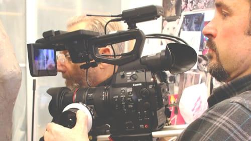 last minute filming